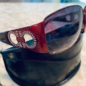 Salvatore Ferragamo Bordeaux Sunglasses